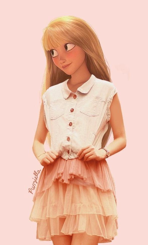 , Les Personnages de Disney Rhabillés en Zara et autre H&M