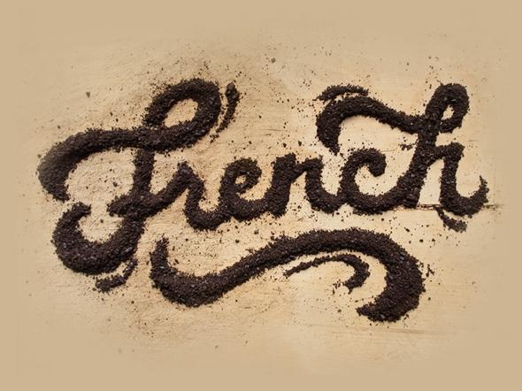 , Crème et Chocolat pour de Douces Citations Typographiques