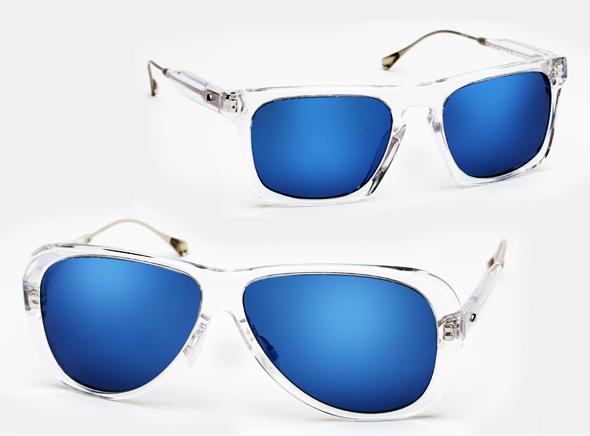 Connu de soleil homme verre bleu GS58