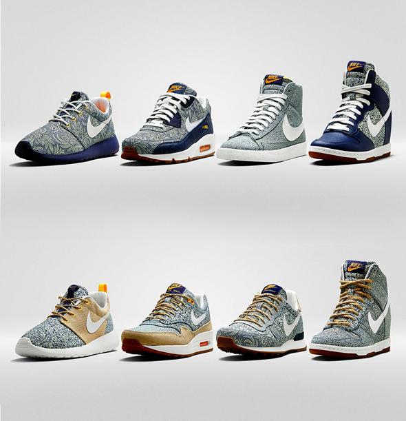 63f8b45760d9 Baskets Nike x Liberty London   8 Modeles en Fleurs pour Cet Ete ...