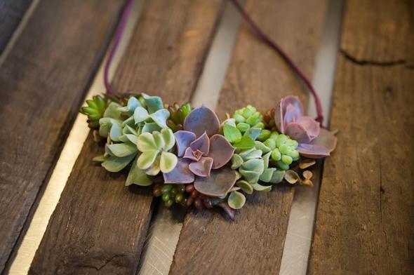 , Bucolique Collection de Bijoux avec des Plantes bien Vivantes à Replanter