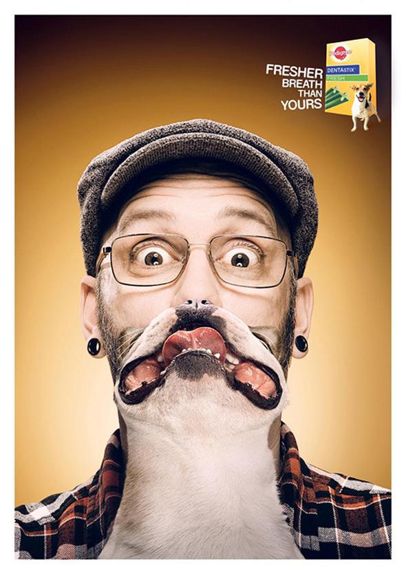 , Pedigree Revisite en Selfies les «Cat Beards» dans sa Derniere Pub
