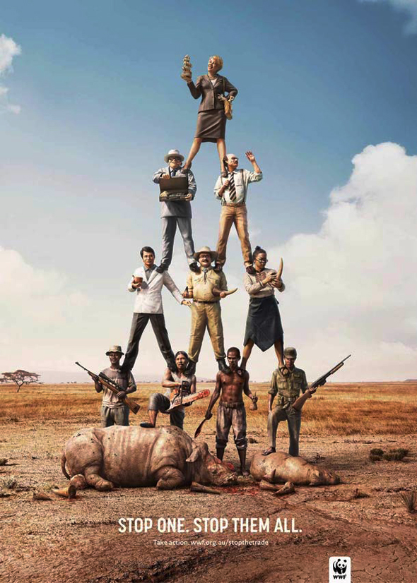 , Pour le WWF On est tous Responsables du Massacre des Animaux