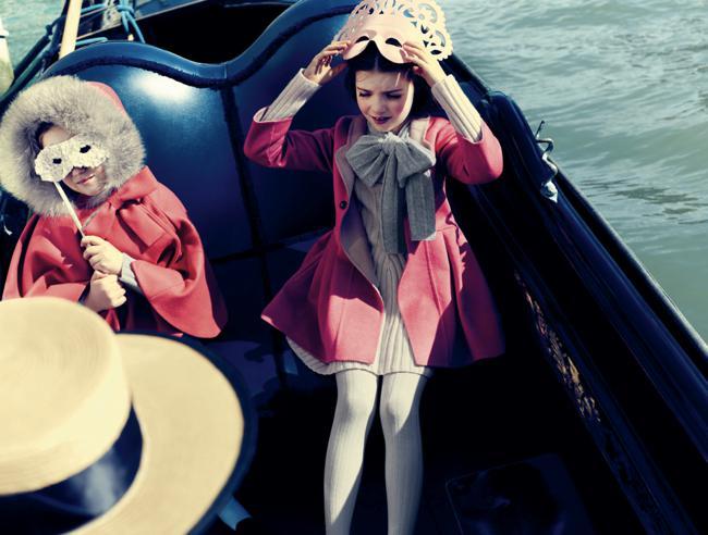 , Les Enfants Baby Dior se donnent Rendez-vous à Venise pour l'Hiver