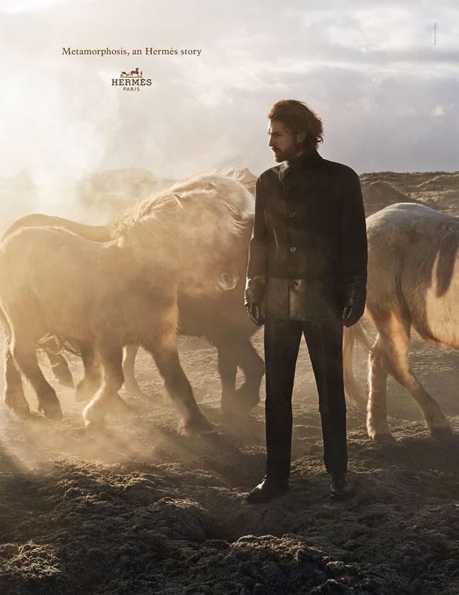 , Hermès part à La Rencontre des Chevaux Islandais pour sa Campagne