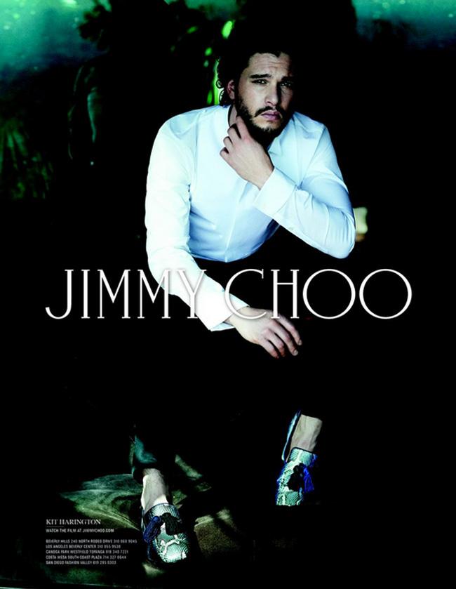 , Jimmy Choo Invite Kit Harington pour sa Campagne Homme de l'Hiver