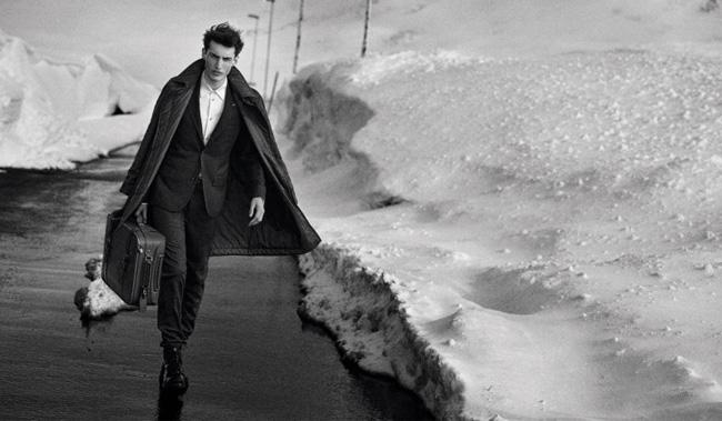 louis vuitton homme fw hiver 2014 2015 campagne 1 - L'Hiver Prochain Louis Vuitton Invite les Hommes en Islande
