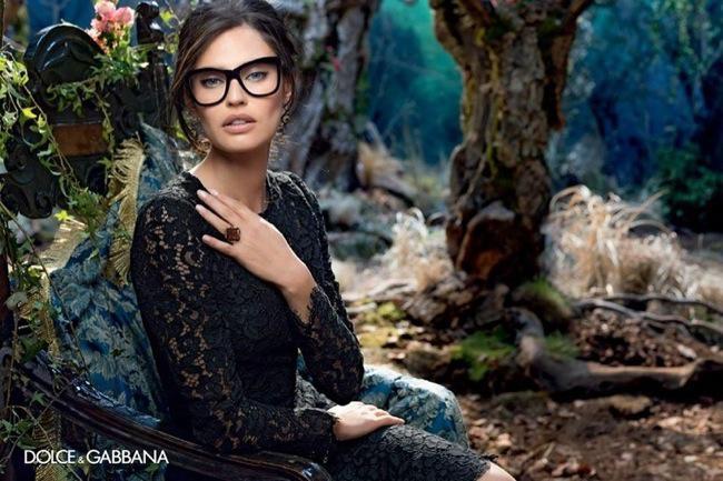 Célèbre Lunettes Dolce & Gabbana Hiver 2014 2015, Campagne avec Bianca  XN71