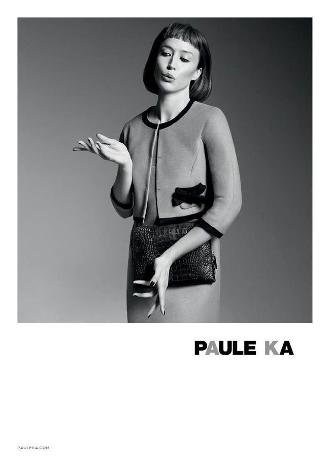 paul k fw hiver 2014 2015 campagne 6 - Paule Ka Hiver 2014 2015, Retour du Glam Chic et Retro