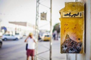 Chat-Street-Art-Djerba-Tunisie-C215-00