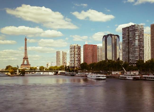 Paul Richardson Adore Paris Time Lapse 1 - J'Adore Paris, Time Lapse Epoustouflant de Paul Richardson (Video hd)