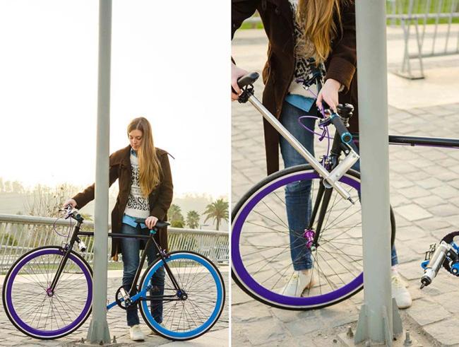 , Le Premier Vélo Sans Cadenas Impossible à Voler Arrive  (video)