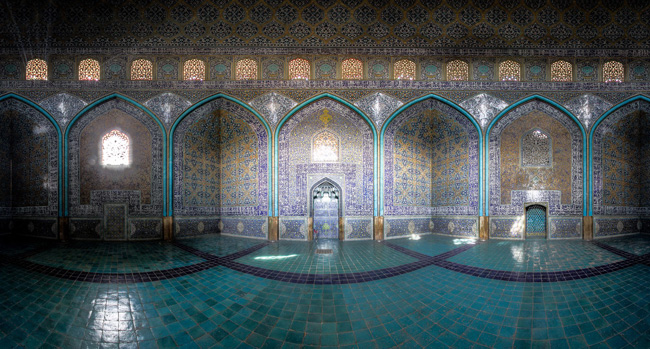 , Fascinante Complexité des Motifs Décoratifs dans l'Architecture Iranienne