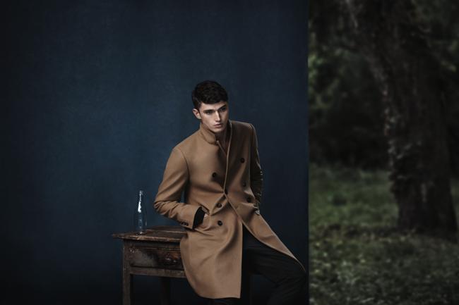 , Zara Homme, un Hiver Casual Chic en Foret et entre Amis