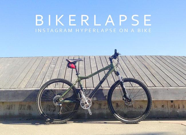 , Bikerlapse, Melbourne à Velo et en Hyperlapse ca Decoiffe (video)
