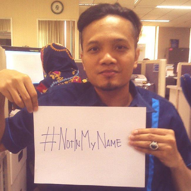 #NotInMyName, Campagne Sociale pour dire non au Faux Islam (video)