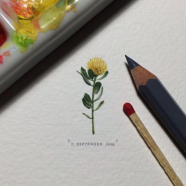 , Voilà des Mini Peintures Epoustoufflantes de Realisme (video)