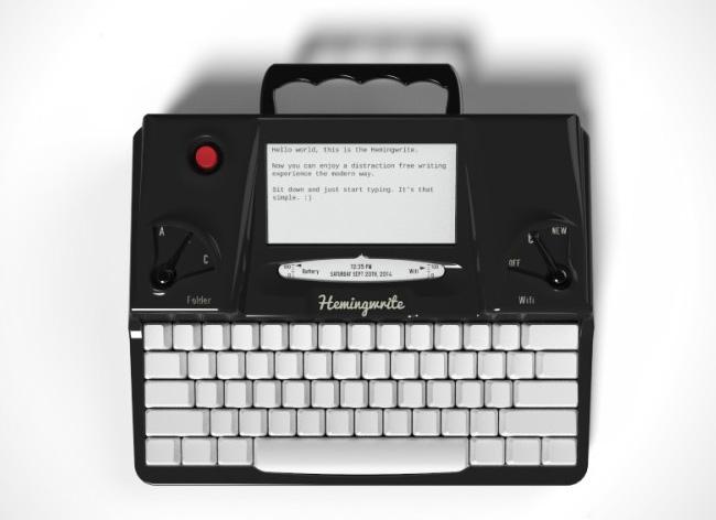 , Machine à Ecrire Retro et Connectée pour Rester Inspiré