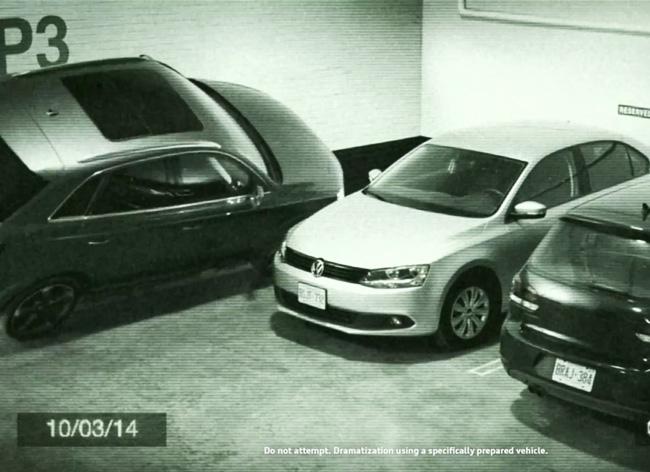 , Stationner comme un Pro avec une Audi Agile Q3 (pub video)