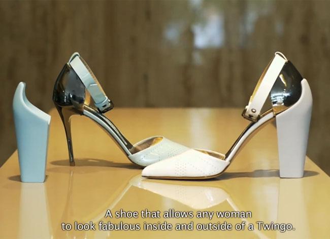 Chaussure A Talon Interchangeable