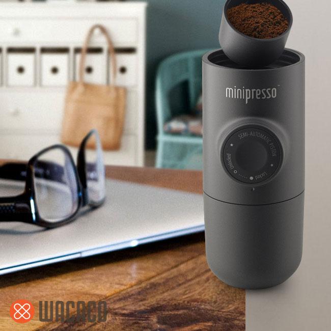 , Wacaco Minipresso, Encore une Machine Expresso de Poche (video)