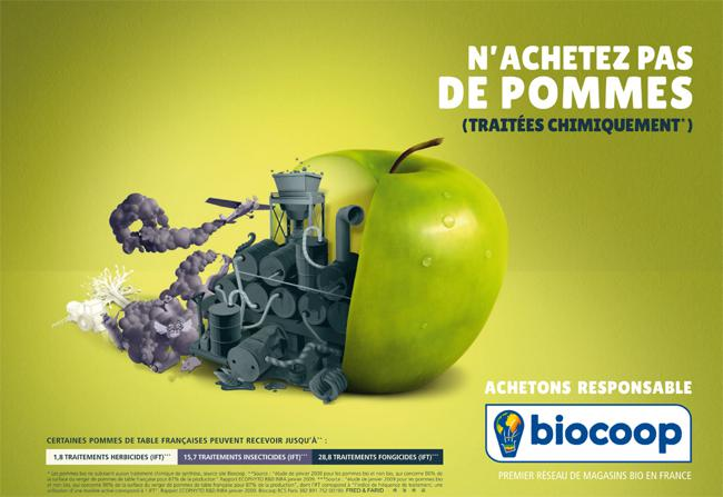 campagne pub biocoop 2014 2015 00 - Campagne Biocoop, Notre Alimentation est une Usine Chimique