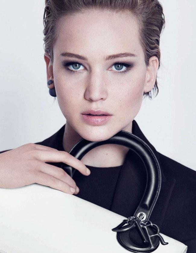 , Miss Dior, le Nouveau Sac de Jennifer Lawrence en Campagne