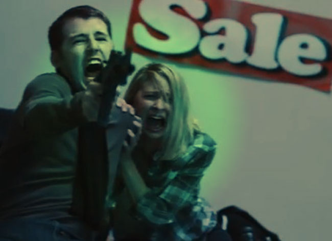 , Quand le Black Friday se Transforme en Film d'Horreur (video)