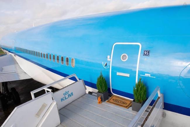 airbnb klm appartement hotel avion 1 - Airbnb et KLM vous offrent une Nuit dans un Avion Appartement