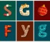 alphabet-noel-decoration-typographie-peter donnelly-8