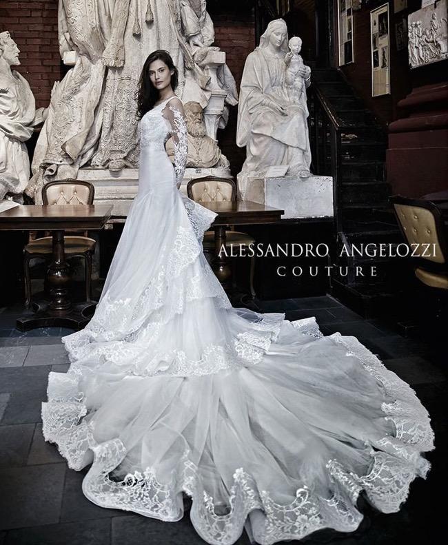 Alessandro Angelozzi Couture Eblouissantes Robes De Mariées