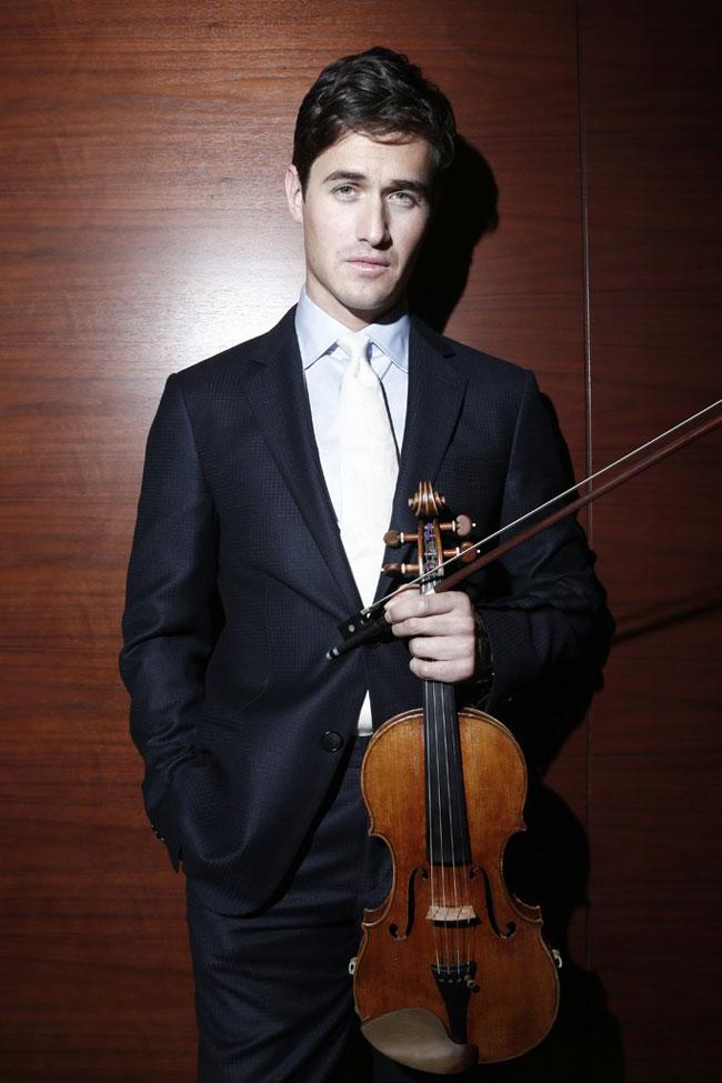 , Pour sa Campagne Ete 2015 Hugo Boss Invite le Violoniste Charlie Siem