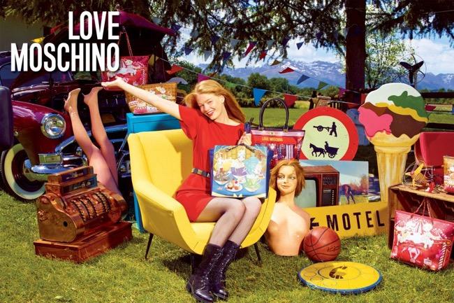 , Campagne Love Moschino Eté 2015, La Mode est dans les Prés