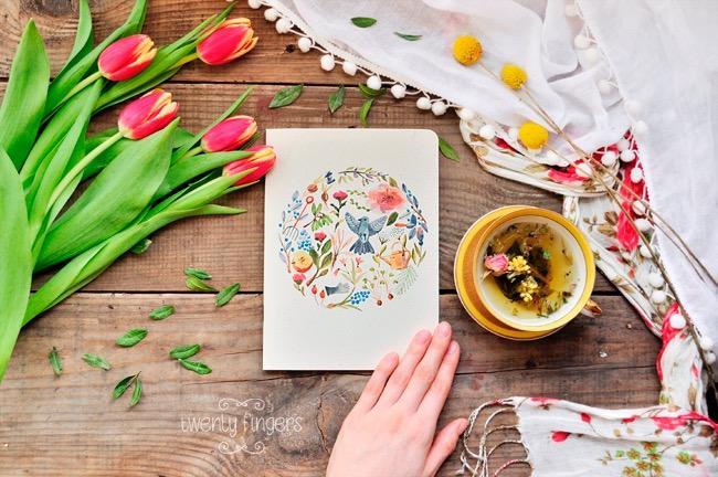, Offrez à votre Imagination ces Carnets Illustrés et Fleuris