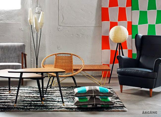 , IKEA fait son Vide Grenier et Ressort ses Meubles des Années 60