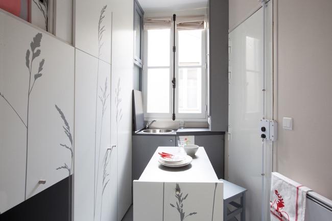 , Vous n'allez pas le Croire, ce Studio Cosy Parisien ne fait que 8 m2 (video)