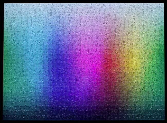 , 1000 Colors, le Jeu de Puzzle qui va vous en faire voir de toutes les Couleurs (video)