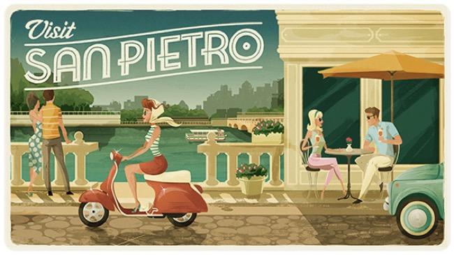 , Bon Voyage, les Plus Glamour des Cartes Postales Illustrées