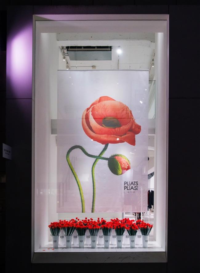 campagne-issey-miyake-pleats-please-2014-fleurs-flowers, Issey Miyake Pleats Please, une bien Jolie Campagne en Fleurs