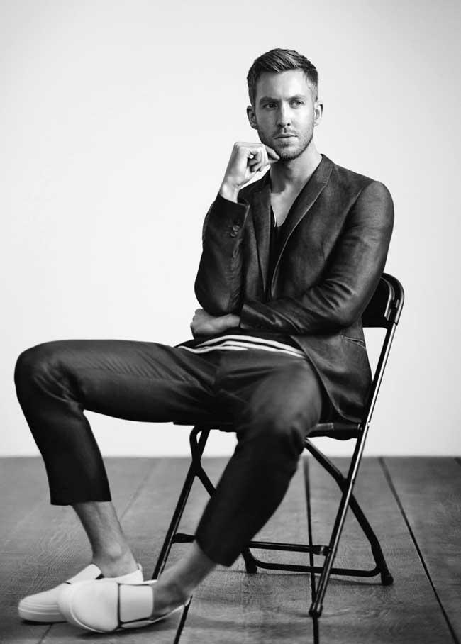 , Calvin Harris, un DJ Star chez Emporio Armani Ete 2015