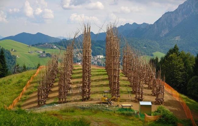 , Une Cathedrale Végétale à l'Architecture Gothique en Pleine Nature (video)