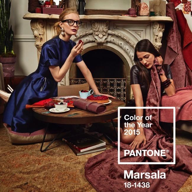 , Pantone décrète le Marsala Couleur de l'Année 2015