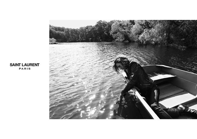, Saint Laurent Homme Ete 2015, Bucolique Retour des Hippies