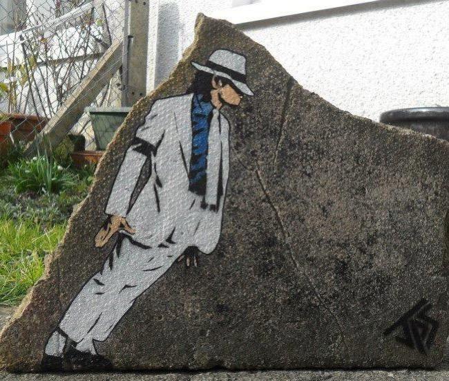 , Il s'Inspire des Pochoirs de Banksy pour changer de Vie