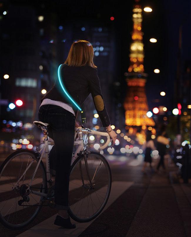 , L'Antivol City Firefly vous Protège la Nuit ainsi que votre Vélo (video)