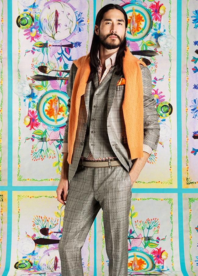 , Un Style Italo-Anglais chez Etro Homme l'Ete Prochain