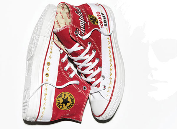 Sneakers baskets Converse Chuck Taylors Andy Warhol 2015