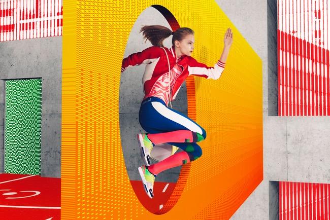 , Adidas StellaSport, Stella McCartney Continue le Sport dans la Couleur et la Bonne Humeur