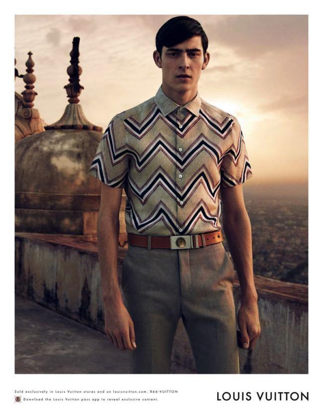 , Louis Vuitton Homme, une Escapade Indienne pour l'Ete 2015