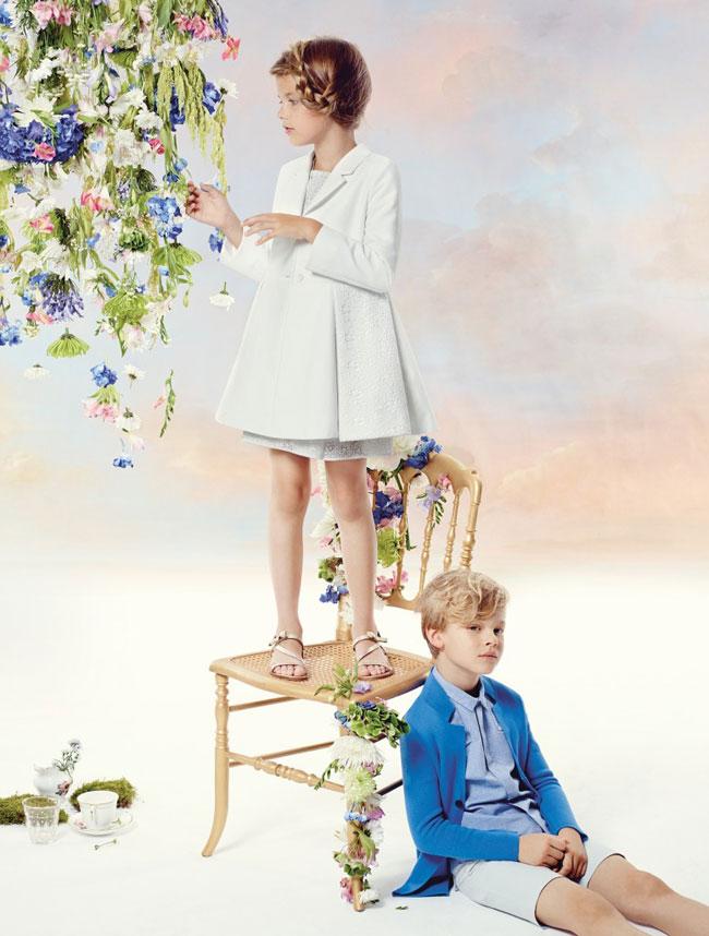 , Baby Dior Ete 2015, une Campagne Enfant Haute en Couleurs